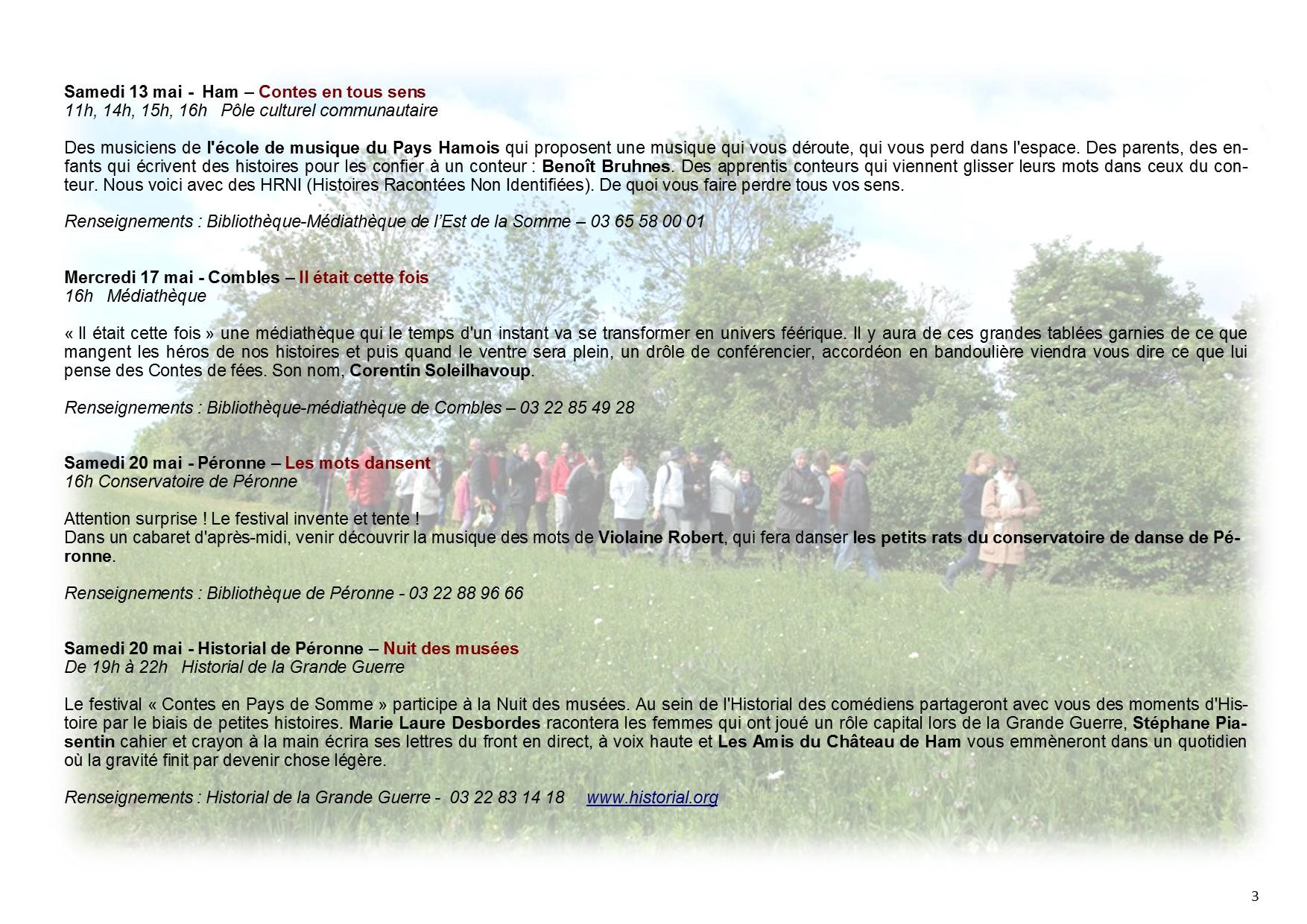 programme 9ème édition Contes en Pays de Somme page 3