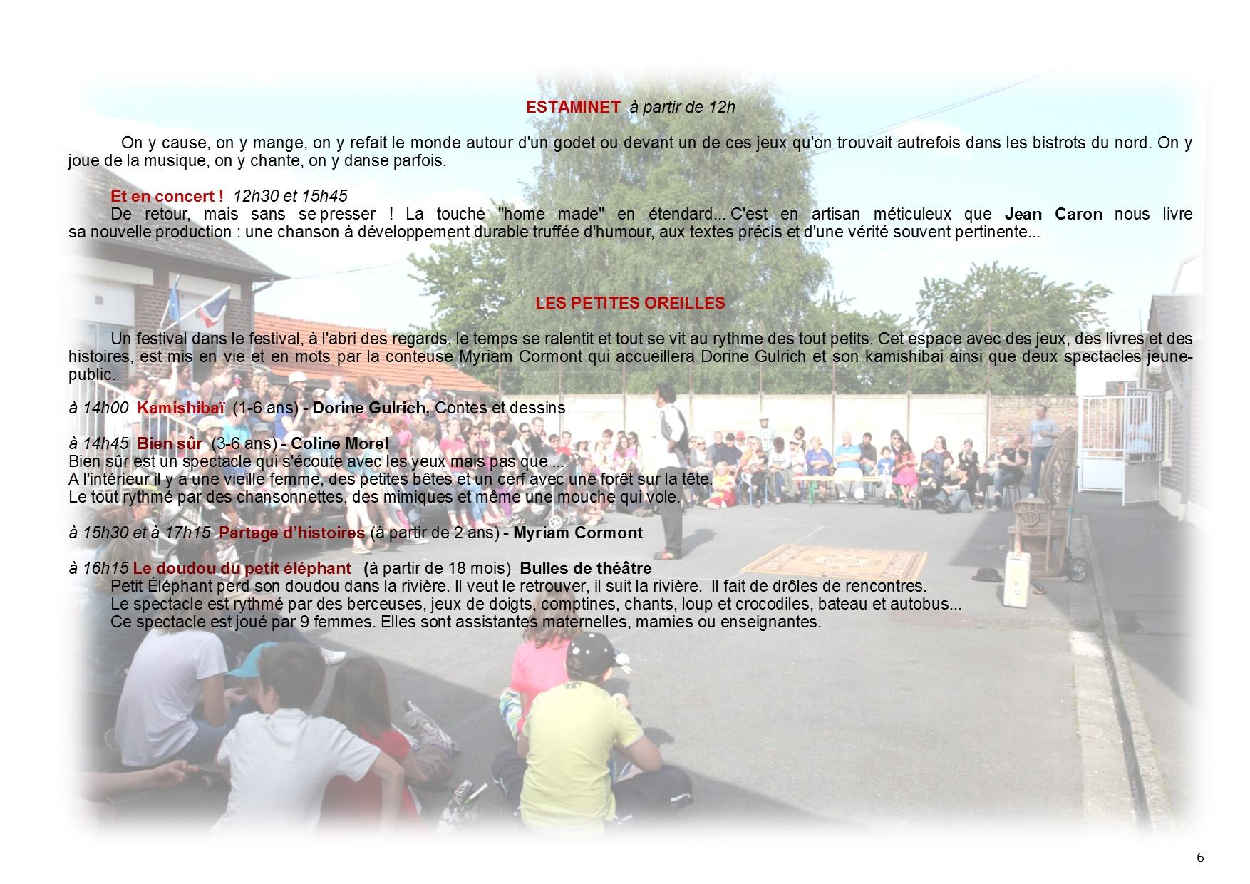 programme 9ème édition Contes en Pays de Somme page 6